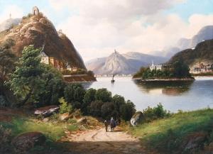 Forstmann Nonnenwerth Painting