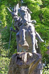 Statue of Widukind