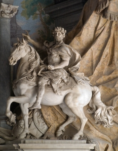 1725 Statue of Charlemagne by Agostino Cornacchini