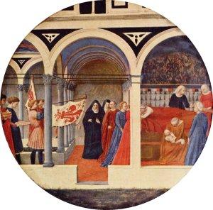 Masaccio  desco da parto
