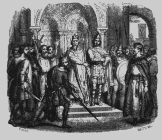 Desiderius at Court illustration