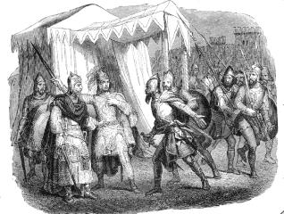 Desiderius Lombard camp illustration