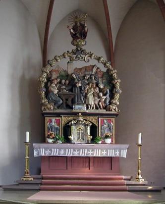 St. Lioba altar