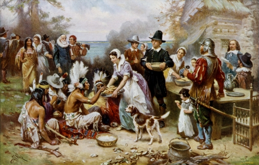 The First Thanksgiving, Jean Leon Gerome Ferris