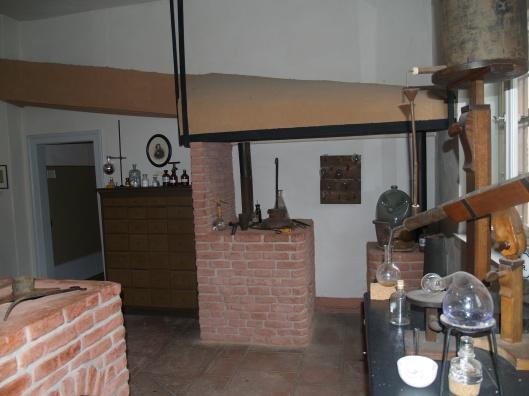 Justus Liebig's laboratory