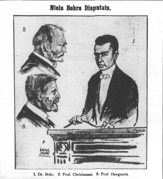 Bohr and his dissertaton