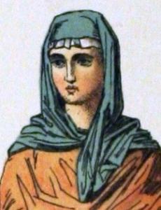 Anglo-Saxon woman of rank