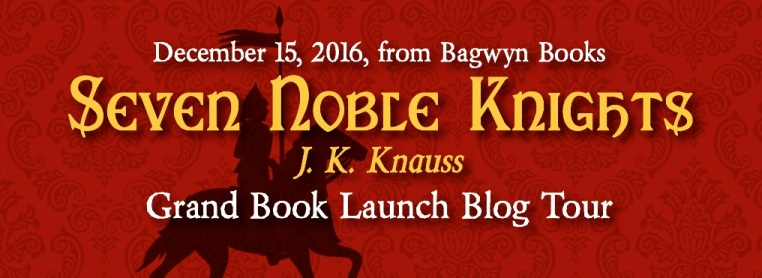 Seven Noble Knights blog tour