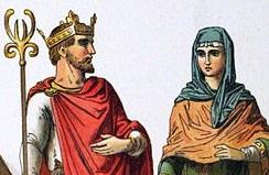 Anglo-Saxon couple